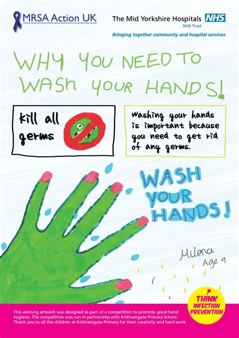 Children Bathroom Ideas by Infection Prevention And Control Hand Hygiene Poster