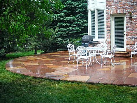 flagstone masonry contractor custom flagstone patios