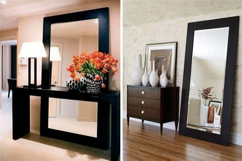 decora  espejos apoyados en el suelo