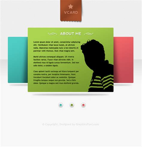 vcard templates v card minimal website psd templates free best ui psd