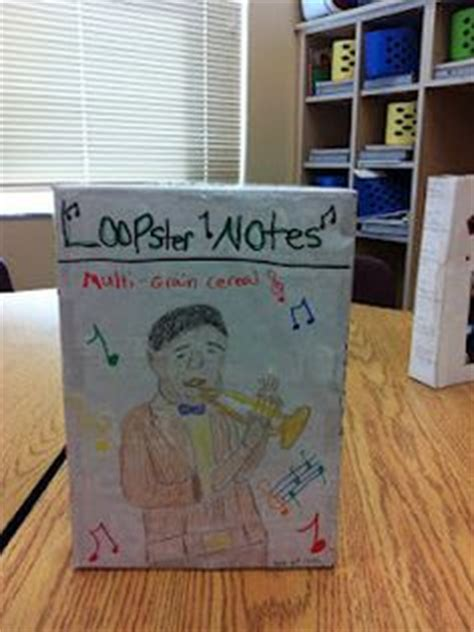 biography ideas for 4th graders 1000 images about education on pinterest cereal boxes