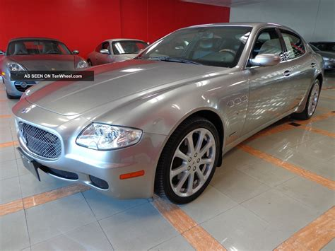 2008 Maserati Quattroporte Executive Gt by 2008 Maserati Quattroporte Executive Gt Low Mileage