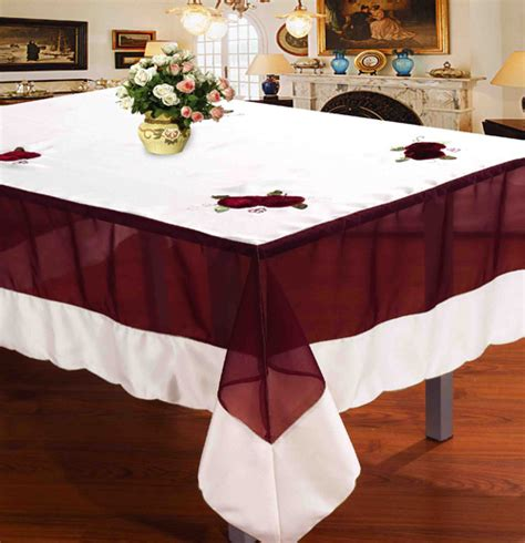 Dining Table Cover Online Shopclues Ways To Choose A Round Table Cloth Textile Apparel News