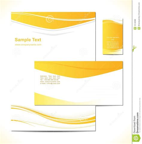 Business Letterhead Vector Free Vector Illustresion Is A Letterhead Template Desig Royalty Free Stock Image Image 15140386