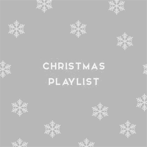 christmas playlist on tumblr