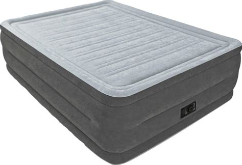 intex comfort plush air mattress air mattress with rechargeable pump 6 product image