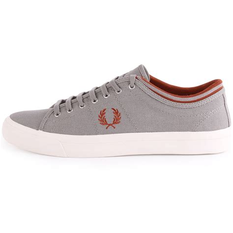 fred perry kendrick b5210 mens canvas cloudburst trainers