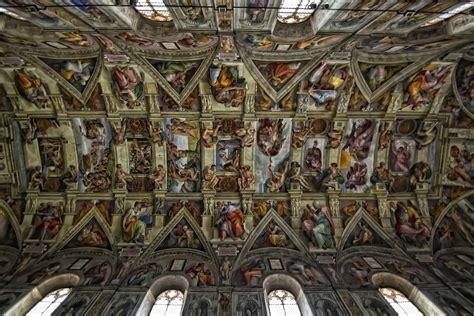 sixtinische kapelle decke sixtinische kapelle deckenansicht foto bild europe