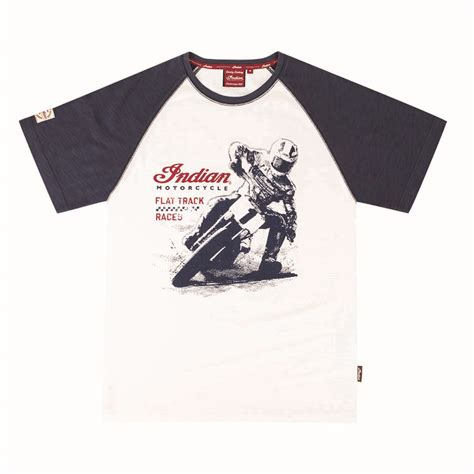Kaos Fangkeh Not Needed For Motorcycle Graphic Cotton T Shirt Sh indian flat track racer available at alba customs