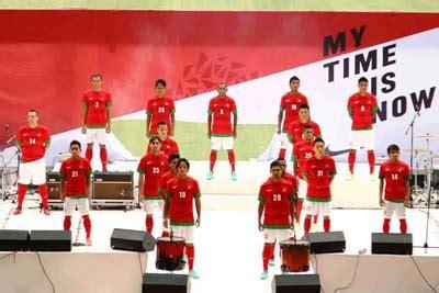 Jersey Timnas Indonesia 2018 Untuk Anak Anak Best Quality timnas indonesia resmi kenakan jersey baru dengan lambang
