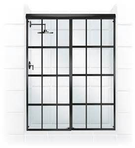 gridscape series sliding shower door conversion kit