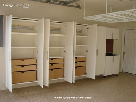 shop storage cabinet plans garage cabinet ideas gallery garage solutions atlanta