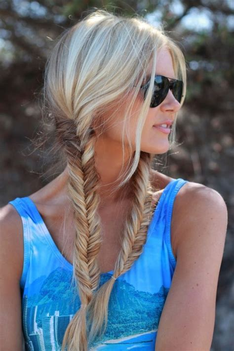 fishtails with braided hair women s hairstyles fishtail braid 2018