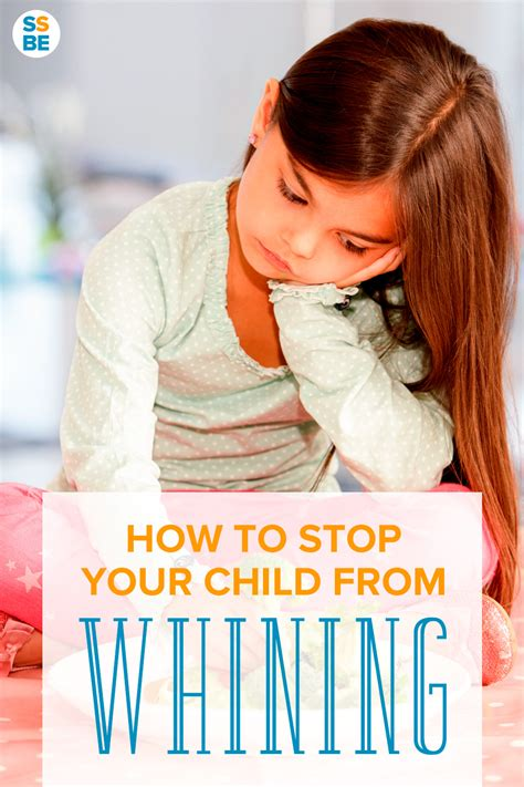 how to stop a from whining how to stop your child from whining and speak politely instead
