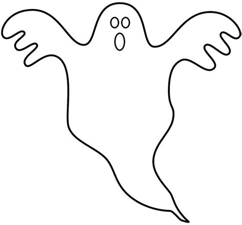 blank ghost coloring pages 17 best images about halloweenie on pinterest halloween