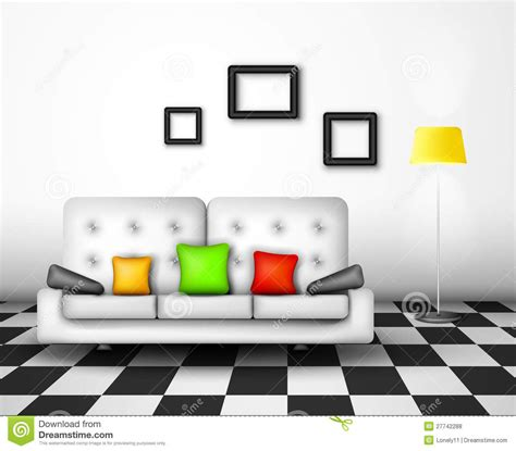 vector interior design royalty free stock photos image