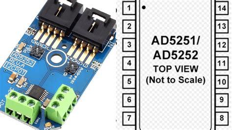 tutorial arduino nano arduino nano ad5252 i2c digital potentiometer tutorial