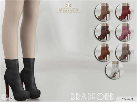 sims 4 shoes the sims resource mj95 s madlen bradford boots