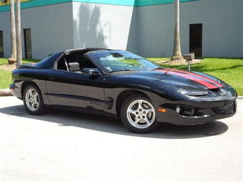 manual cars for sale 2001 pontiac firebird seat position control find used 2001 pontiac firebird formula coupe 2 door 5 7l t top leather seats in fort lauderdale