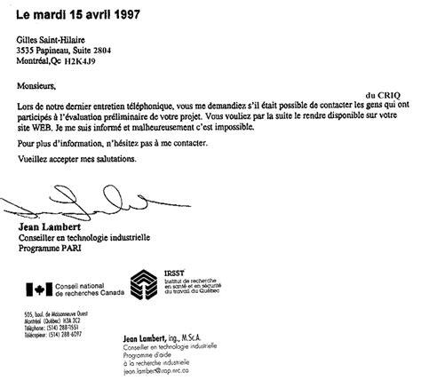 Exemple De Lettre Demande De Commandite Quasiturbine Nouvelles