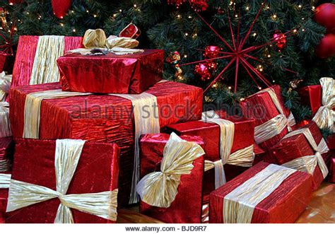 christmas presents that start with r presents stock photos presents stock images alamy