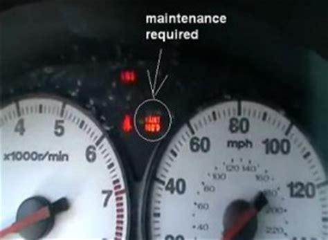 reset maintenance service light honda civic reset