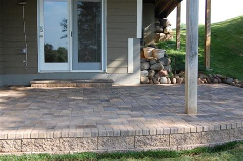 Raised Paver Patio Cost Raised Paver Patio Darcylea Design