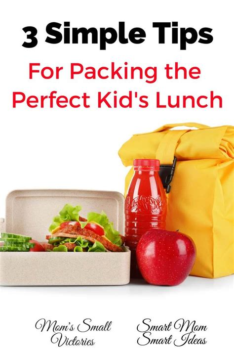 3 Tips To Using Packaging - 3 simple tips for packing the kid s lunch