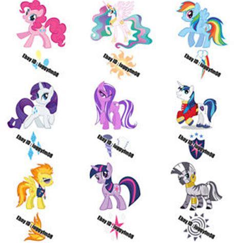 my little pony cutie mark tattoos my pony pinkie princess rainbow cutie