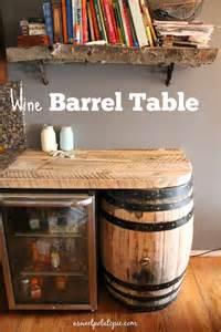 Wine Barrel Kitchen Table Diy Crafts A Sweet Potato Pie