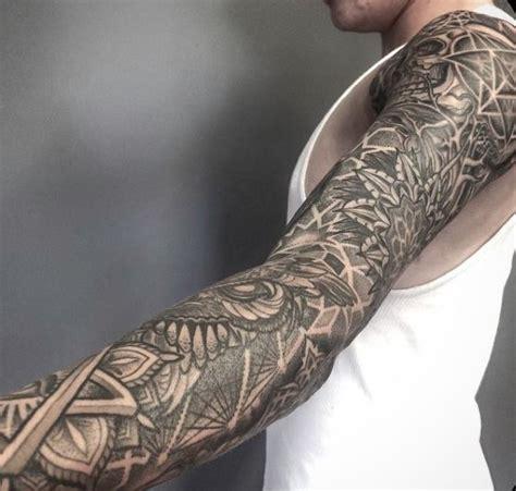 geometric tattoo quarter sleeve 111 best images about tattoos on pinterest tiger tattoo