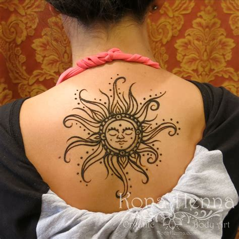 sun back tattoo designs organic henna products professional henna studio