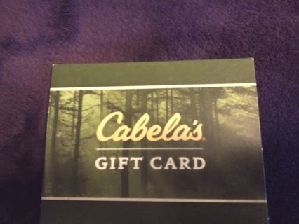 Cabelas E Gift Card - free cabelas 25 00 gift card gift cards listia com auctions for free stuff