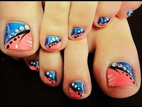 imagenes de uñas decoradas para pie 2015 decoraci 243 n de u 241 as de los pies ideas youtube
