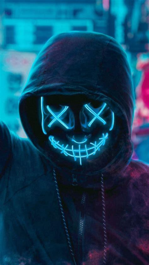 maeshmallow neon game wallpaper full hd   image