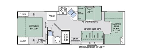 rv class c floor plans four winds class c rv floor plans floor matttroy