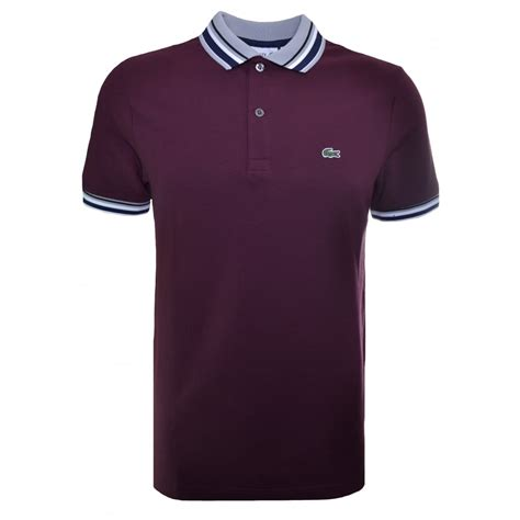 Polo Shirt Lacost Maroon Mix Black collection lacoste mens polo shirt pictures lacoste mens