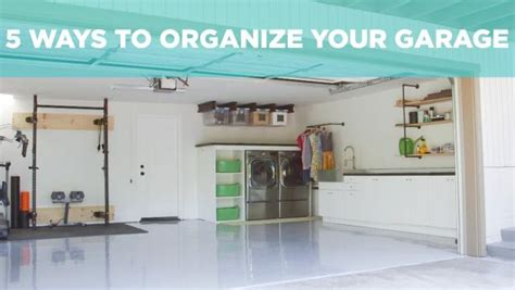 ways to organize your garage 5 ways to organize your garage hgtv