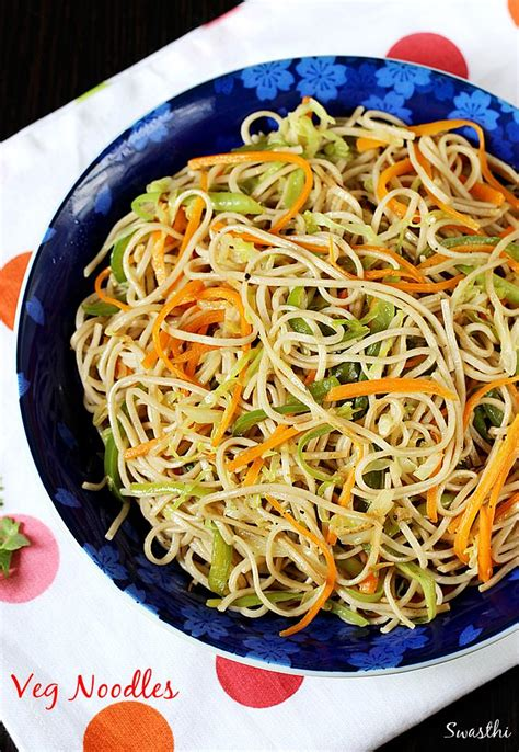 vegetables noodles veg noodles recipe how to make noodles recipe without sauce