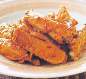 Sayap Pedes Manis 1 resep dan cara membuat sayap ayam pedas