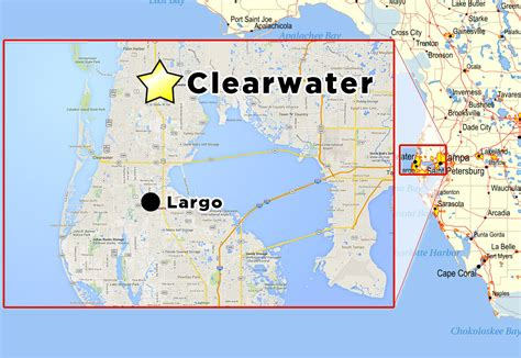 clearwater florida on map maps of clearwater and clearwater quotes