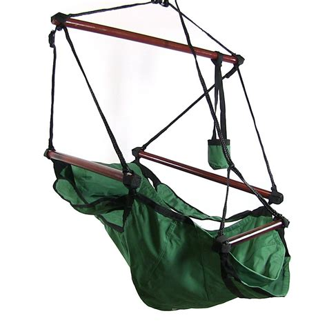 hanging hammock swing chair sunnydaze deluxe hanging hammock air chair swing with