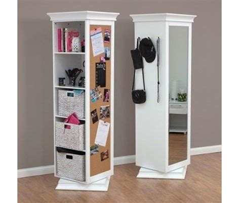 bookcase with mirror display it rotating bookcase with mirror