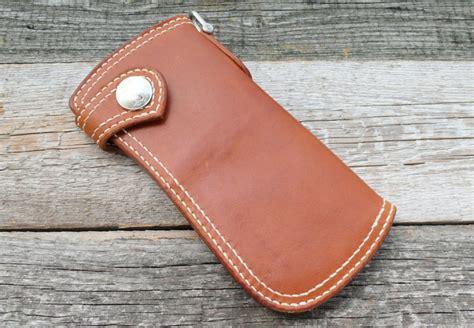 SOXISIX WALLET PM.49/COGNAC : Soxisix?   Highest quality handmade leather belts, wallets