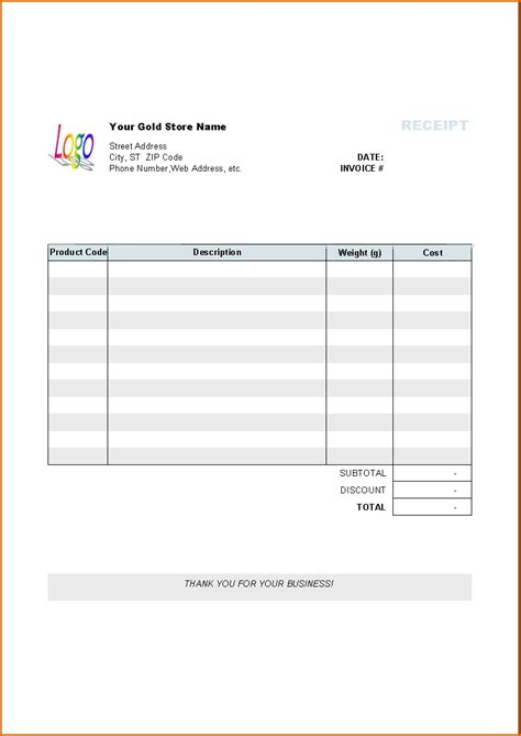 invoice template pages invoice