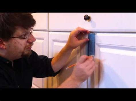 installing kitchen cabinets youtube install cabinet door knobs youtube