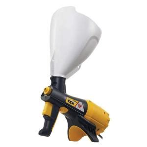home depot paint sprayer electric wagner power tex texture sprayer 0520000 the home depot