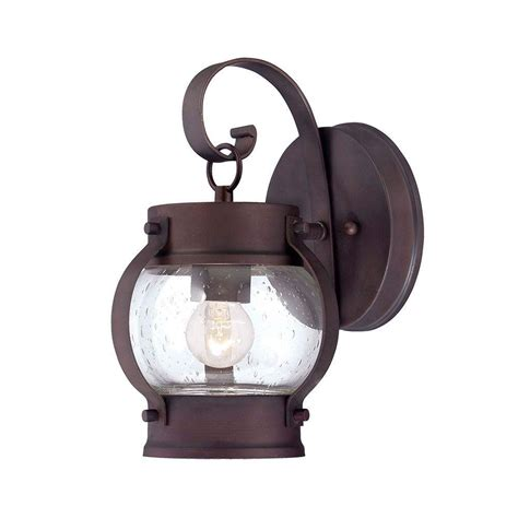 Architectural Outdoor Lighting Fixtures Acclaim Lighting Mariner Collection Wall Mount 1 Light Architectural Bronze Outdoor Light