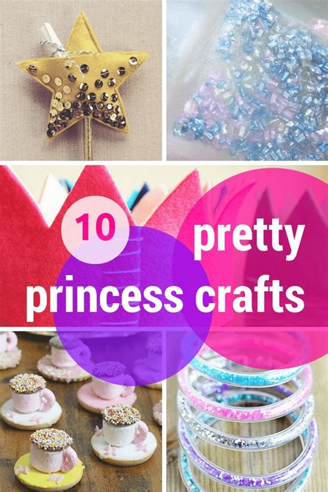 princess crafts for 10 pretty princess crafts activities