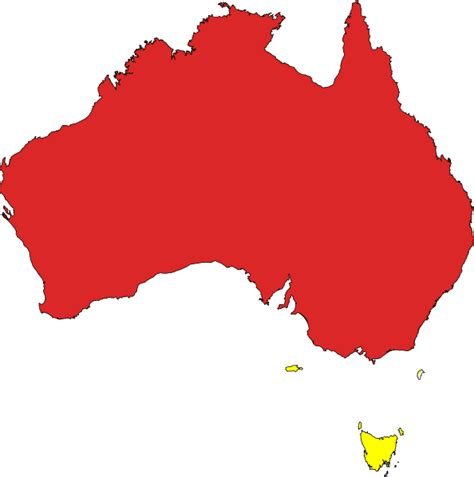 design art australia online outline map australia clipart best
